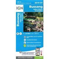 IGN Wandelkaart 3619ot Bussang La Bresse