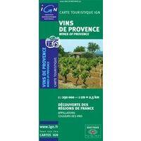 IGN Kaart Vins De Provence 1:250.000