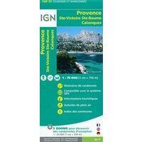 IGN Wandel- En Fietskaart Provence & Ste Victoire 1:75.000
