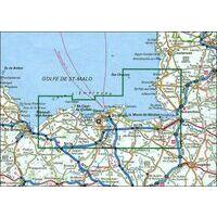 IGN Wandel- En Fietskaart Saint-Malo & Cote D'Emeraude 1:75.000