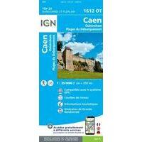IGN Wandelkaart 1612ot Caen