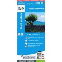 IGN Wandelkaart 3140ETR Mont Ventoux