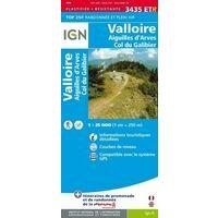 IGN Wandelkaart 3435ETR Valloire & Aiguilles D'Arves