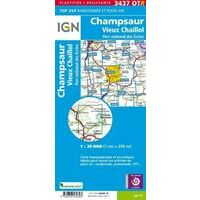IGN Wandelkaart 3437OTR Champsaur