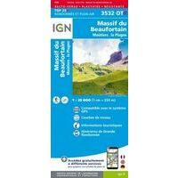 IGN Wandelkaart 3532OTR Massif Du Beaufortain