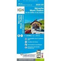 IGN Wandelkaart 3535ot Névache - Mont Thabor