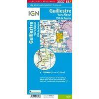 IGN Wandelkaart 3537ETR Guillestre