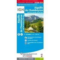 IGN Wandelkaart 3538ETR Aiguille De Chambeyron