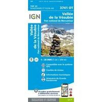 IGN Wandelkaart 3741ot Vallée De La Vesubie
