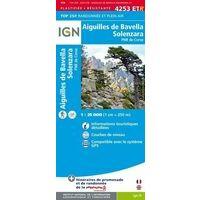 IGN Wandelkaart 4253ETR Aiguilles De Bavella