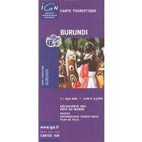 IGN Wegenkaart Burundi