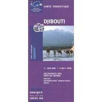IGN Wegenkaart Djibouti