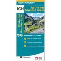 IGN Fietskaart Route Des Grandes Alpes