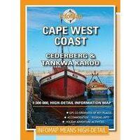 Infomap Cape West Coast Cederberg 1:300.000