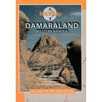 Infomap Damaraland (West-Namibie) 1:430.000
