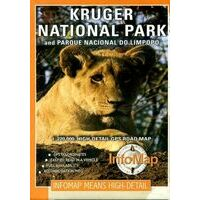 Infomap Wegenkaart Kruger National Park & Lowveld