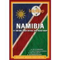 Infomap Wegenkaart Namibië Infomap