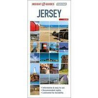 Insight Travel Map Wegenkaart Jersey