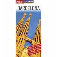 Insight Travel Map Barcelona Stadsplattegrond Flexi Map