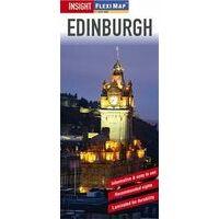 Insight Travel Map Stadsplattegrond Edinburgh Flexi Map