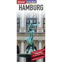 Insight Travel Map Hamburg Flexi Map Stadsplattegrond