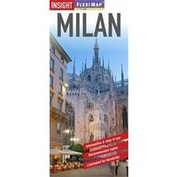 Insight Travel Map Milan Flexi Map Stadsplattegrond