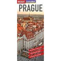 Insight Travel Map Prague Stadsplattegrond Flexi Map