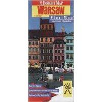 Insight Travel Map Flexi Map Warschau