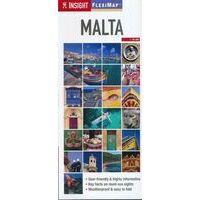 Insight Travel Map Wegenkaart Malta En Gozo Flexi Map