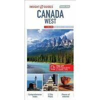 Insight Travel Map Wegenkaart West Canada