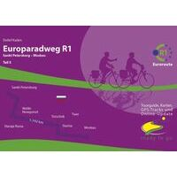IS Radweg Fietsgids Europaradweg R1 Deel 5 Sint Petersburg  - Moskou