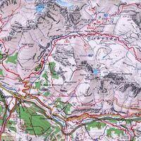 Istituto Geografico Centrale Wandelkaart 11 Domodossola EVal Formazza 1:50.000