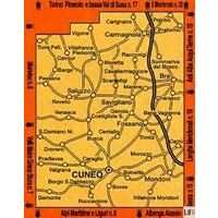 Istituto Geografico Centrale Wandelkaart 24 Il Cuneese 1:50.000