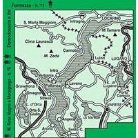 Istituto Geografico Centrale Wandelkaart 12 Laghi Maggiore 1:50.000