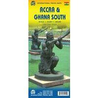ITMB Wegenkaart Van Ghana Zuid En Accra