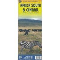 ITMB Afrika Zuid & Midden Landkaart