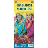 ITMB Wegenkaart Bangladesh & India Oost