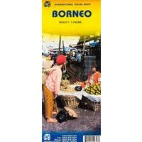 ITMB Borneo Kalimantan Wegenkaart