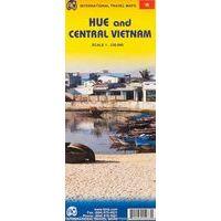 ITMB Centraal Vietnam & Hue Wegenkaart