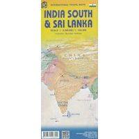 ITMB Wegenkaart Sri Lanka & India-Zuid