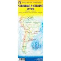 ITMB Wegenkaart Suriname