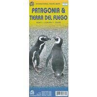 ITMB Landkaart Patagonië & Vuurland