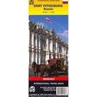 ITMB Stadsplattegrond Sint Petersburg 1:14.000