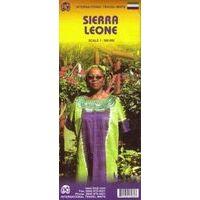 ITMB Wegenkaart Sierra Leone 1:560.000