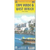 ITMB Kaapverdische Eilanden Wegenkaart
