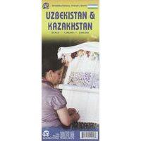 ITMB Kaart Oezbekistan & Kazachstan