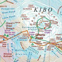 ITMB Wegenkaart Kilimanjaro