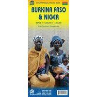 ITMB Landkaart Burkina Faso & Niger