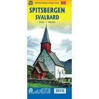 ITMB Landkaart Spitsbergen - Svalbard
