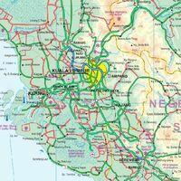 ITMB Wegenkaart Maleisië
